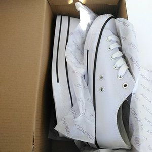 TOP Moda Shoes - Lace-Up Casual Daily Flat Sneaker